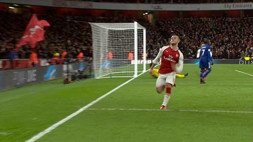 Chi tiết Arsenal - Chelsea: Vô-lê gỡ hòa 90+2 (KT) 11
