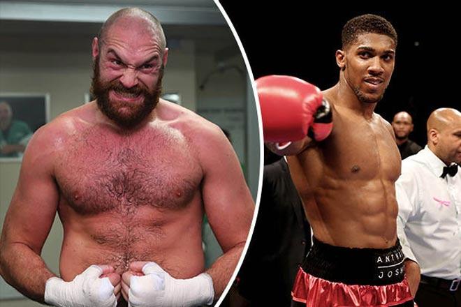 """""""Gã hề"""" Fury tự nhận số 1 hành tinh, móc máy """"vua boxing"""" Joshua - 2"""