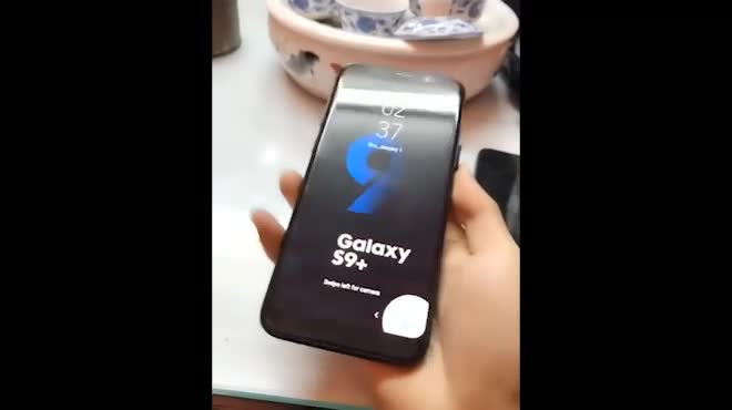 """Đã có video trên tay Galaxy S9+ """"nhái"""""""