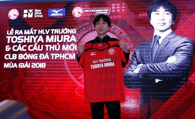 Đua tài nhà bầu Đức, sếp Công Vinh & HLV Miura muốn vô địch V-League - 1