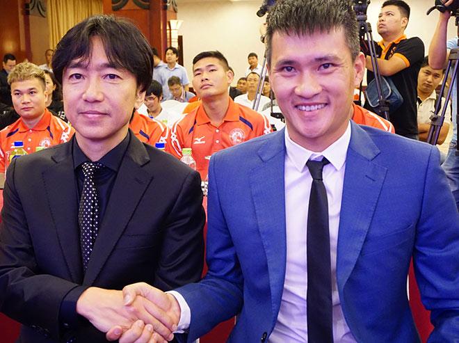 Đua tài nhà bầu Đức, sếp Công Vinh & HLV Miura muốn vô địch V-League - 2