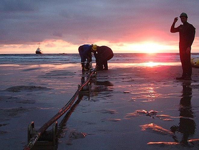2 tuyến cáp quang biển AAG, APG cùng gián đoạn liên lạc vào cuối tuần này