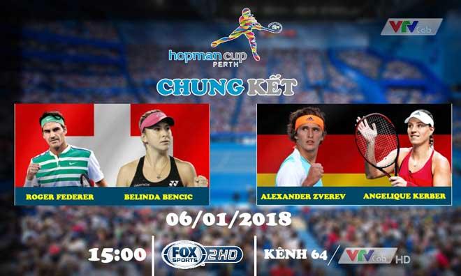 Chờ đón chung kết quần vợt trên VTVcab 1