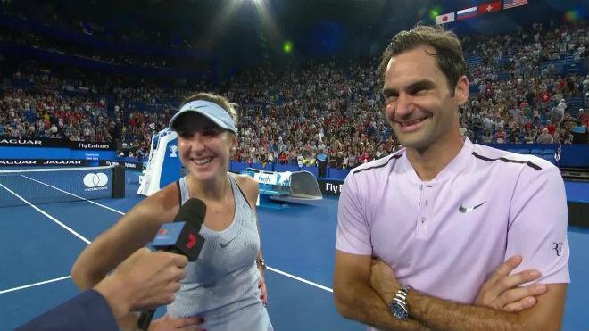 Tin thể thao HOT 6/1: Federer và mỹ nhân Bencic vô địch Hopman Cup 1