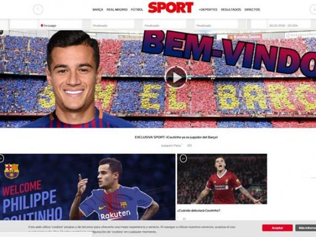 """Bom tấn"" Coutinho gia nhập Barca: Vua Messi trao áo số 7, fan Liverpool tri ân 13"
