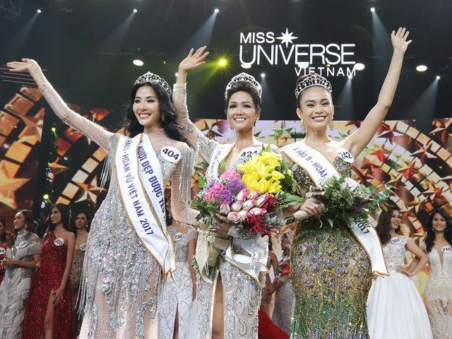 Cư dân mạng tranh cãi về nhan sắc Tân Hoa hậu Hoàn vũ Việt Nam