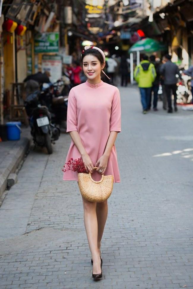 Huyền My biết gì về thời trang mà thiết kế áo dài? - 1
