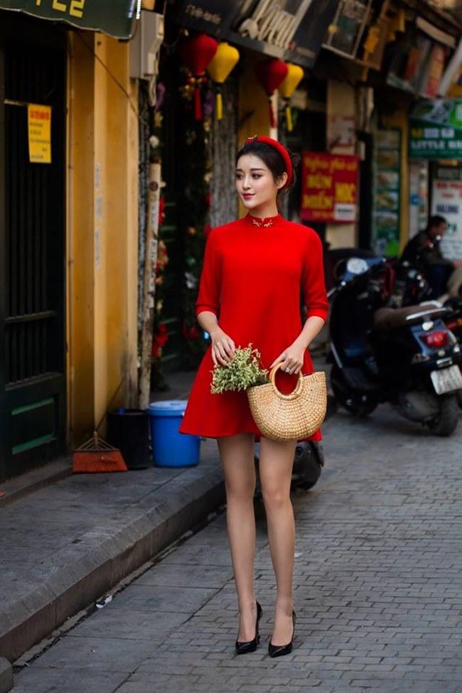 Huyền My biết gì về thời trang mà thiết kế áo dài? - 2