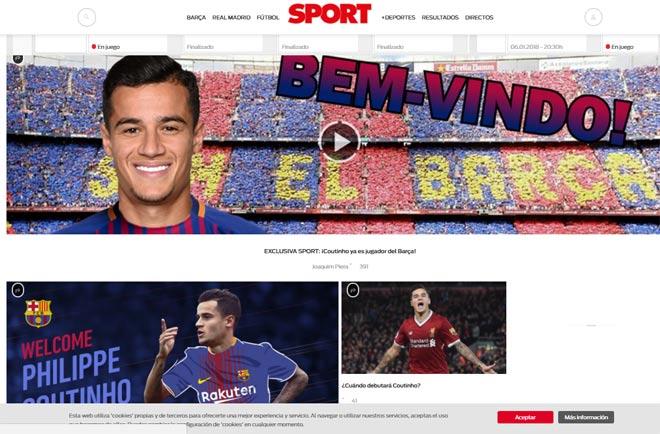 Báo chí thế giới: Barca có Coutinho, mở ra giai đoạn thống trị mới 1
