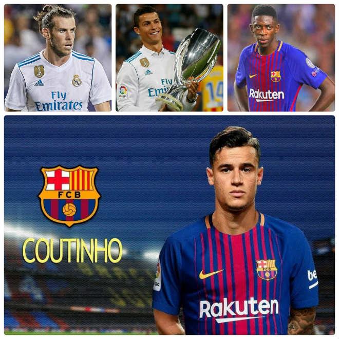 """Coutinho về Barca: Khơi mào """"bom tấn"""" ngoại hạng Anh đổ bộ Liga 1"""