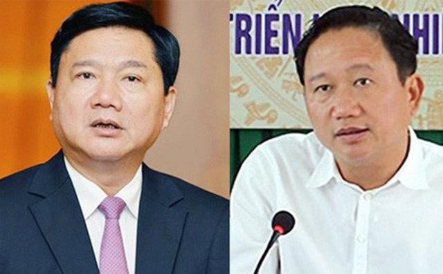 Thu hồi tài sản trong vụ án ông Đinh La Thăng, Trịnh Xuân Thanh