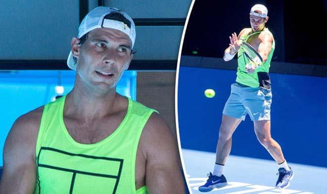 Tin thể thao HOT 7/1: Nadal miệt mài luyện công ở Úc 2