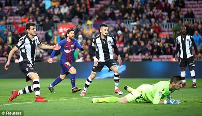 Barcelona - Levante: Đãi mắt khán giả, siêu phẩm vô-lê 1
