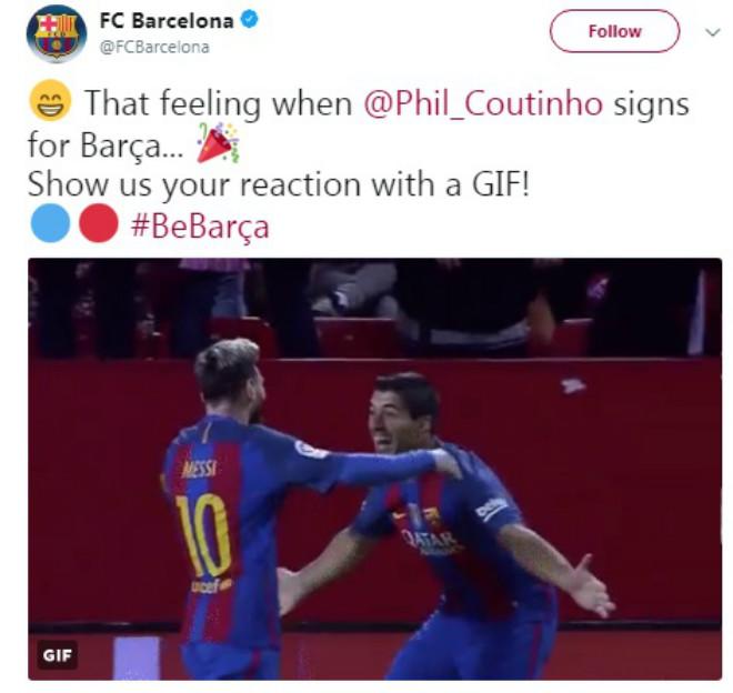 """Bom tấn"" Coutinho gia nhập Barca: Vua Messi trao áo số 7, fan Liverpool tri ân 4"