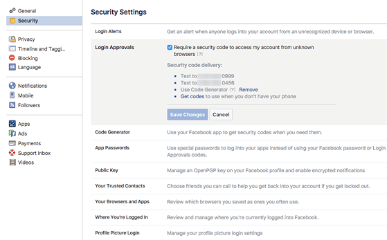 Làm thế nào để bảo mật Facebook tốt hơn? - 2