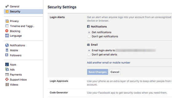 Làm thế nào để bảo mật Facebook tốt hơn? - 5