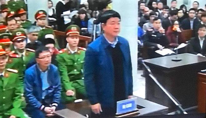 Những hình ảnh đầu tiên của bị cáo Đinh La Thăng, Trịnh Xuân Thanh tại tòa - 2