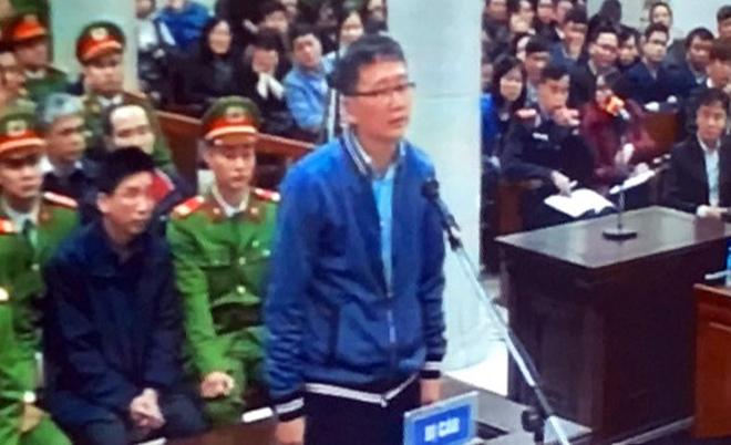 Những hình ảnh đầu tiên của bị cáo Đinh La Thăng, Trịnh Xuân Thanh tại tòa - 3