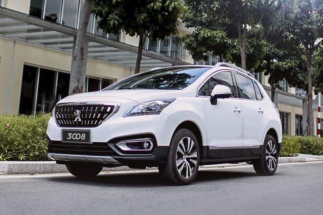 Peugeot 3008 giảm giá xuống dưới 1 tỷ đồng