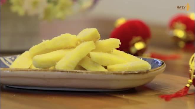 Cách làm mứt khoai lang giòn ngọt siêu dễ