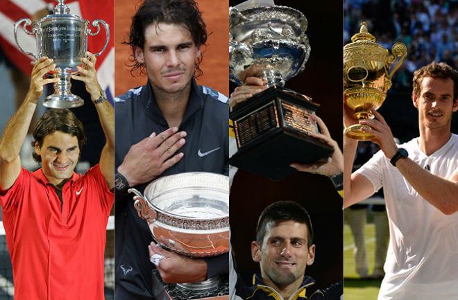 """Bảng xếp hạng tennis 8/1: Federer """"uy hiếp"""" Nadal, thê thảm Djokovic - Murray 1"""
