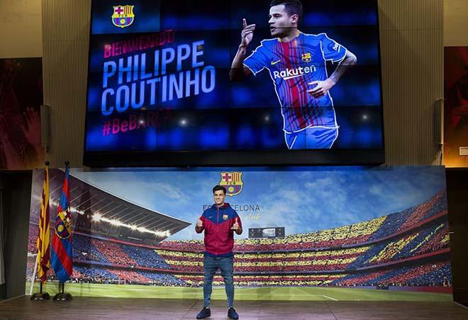 Coutinho 160 triệu euro ra mắt Barca: Rất thân Suarez, sống gần Messi - 10