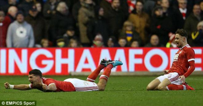 Nottingham Forest – Arsenal: Đại tiệc 6 bàn siêu kịch tính