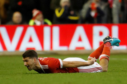Chi tiết Nottingham - Arsenal: Walcott dứt điểm vô vọng (KT) 22