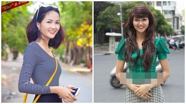 Tân Hoa hậu Hoàn vũ Việt Nam thuở tóc dài xinh như búp bê - 1