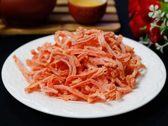 Tuyệt chiêu làm mứt cà rốt không cần nước vôi trong mà vẫn dẻo ngon bất ngờ