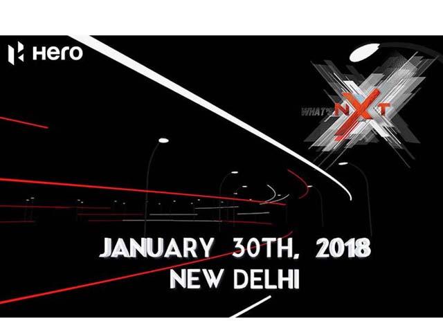 """""""Xế nổ"""" lạ Hero Xtreme NXT sẽ ra mắt vào 30/1 tới"""