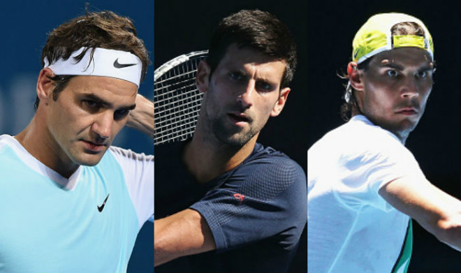 "Australian Open 2018: Djokovic dễ đụng Federer, Nadal ở ""chung kết sớm"" 1"