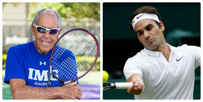 Tin thể thao HOT 9/1: Thầy của Serena mơ huấn luyện Federer 1