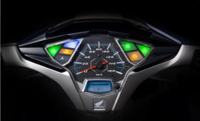 Chi tiết 2018 Honda Air Blade màu mới dạng xanh ngọc - 5