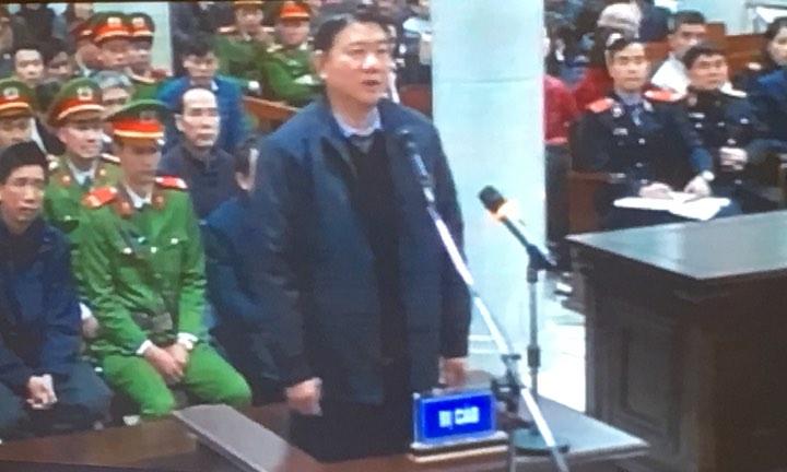 Xét xử ông Đinh La Thăng: Lời khai bất ngờ của nguyên Tổng giám đốc PVPower