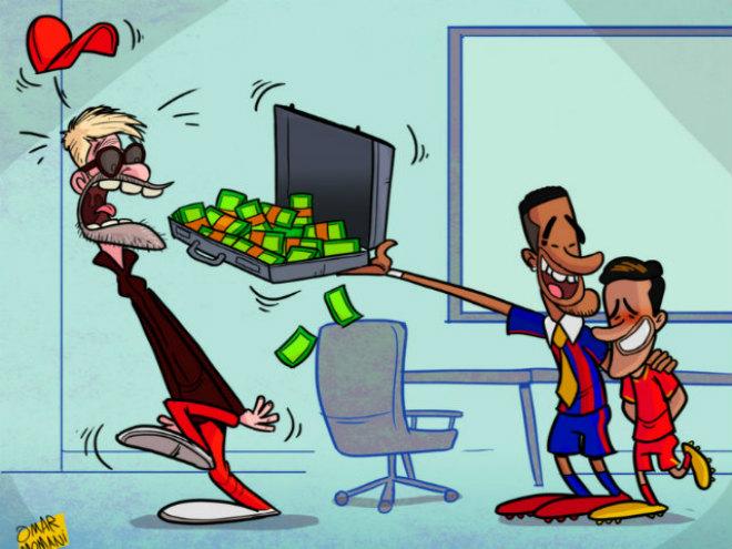 """Barca - Coutinho """"pha lê"""": Coi chừng vụ """"lừa tiền"""" thế kỷ Torres 2.0 1"""