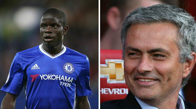 """Chuyển nhượng MU: Jose Mourinho đòi mua """"máy quét"""" Kante - 1"""