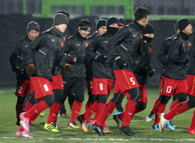 """U23 Việt Nam: HLV Park Hang Seo lo nhất """"người gác đền"""" - 1"""