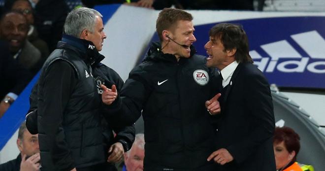 """Mourinho và Conte đấu khẩu """"tóe lửa"""": Sẵn sàng đánh nhau - 1"""