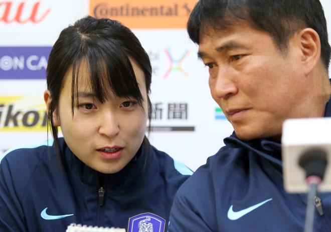 Sếp nữ xinh U23 Hàn Quốc dẫn quân đấu Công Phượng, Xuân Trường - 2