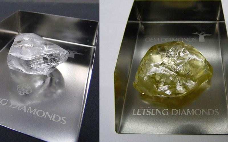 Tìm được hai viên kim cương quý kích cỡ khủng