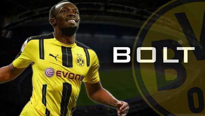 U.Bolt tới Dortmund, hướng về MU: Siêu nhân cũng phải sợ - 1