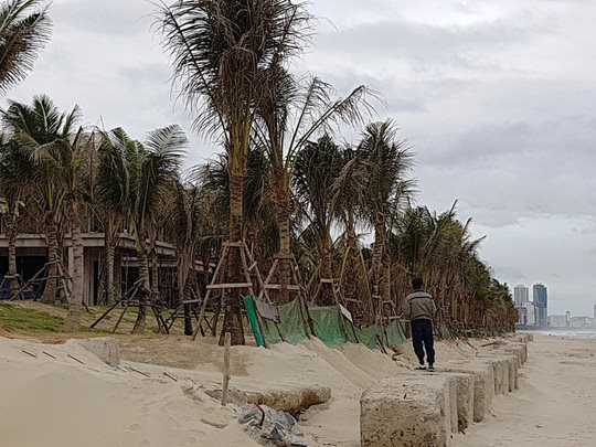 Đà Nẵng: Ngang nhiên lấn biển xây hàng chục biệt thự vượt phép - 3
