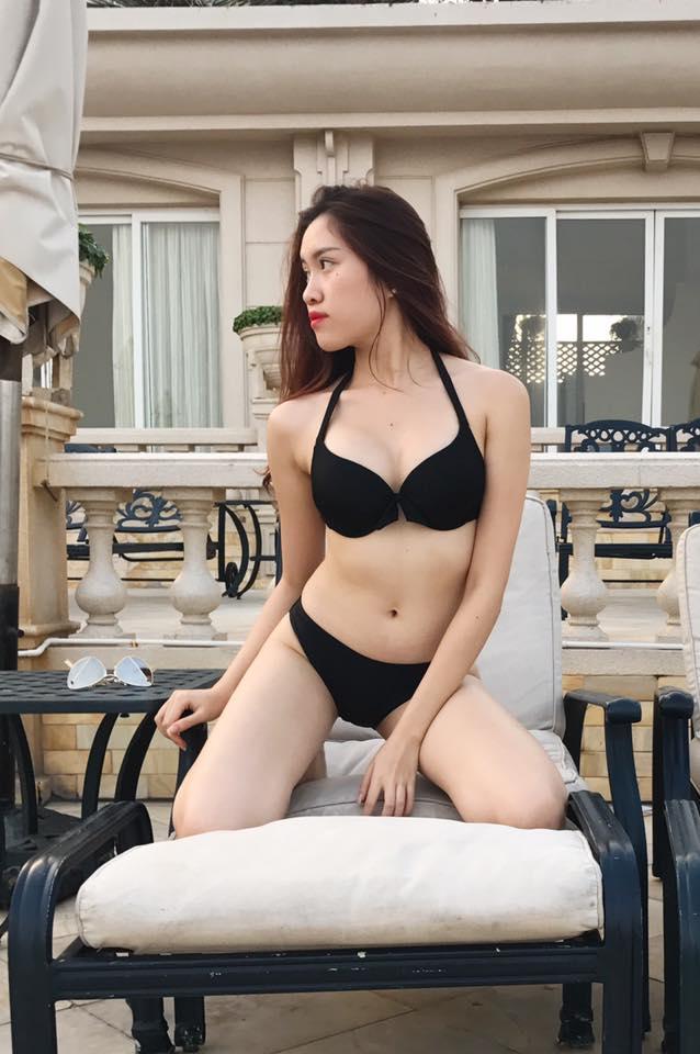Gu mặc gợi cảm của nữ MC nóng bỏng nhất VTV từng thi hoa hậu - 4