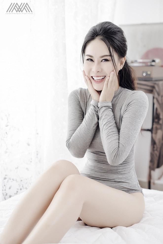 """Bí quyết giúp nữ DJ 8X đốn tim nam diễn viên Hùng Thuận """"Đất Phương Nam"""" - 4"""