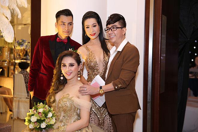 Dàn sao Việt dự đám cưới của Lâm Khánh Chi tại Sài Gòn - 6
