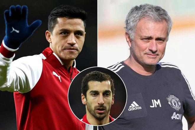 """Chuyển nhượng MU: Mourinho chơi xỏ Pep, """"mưu cao"""" lấy Sanchez"""
