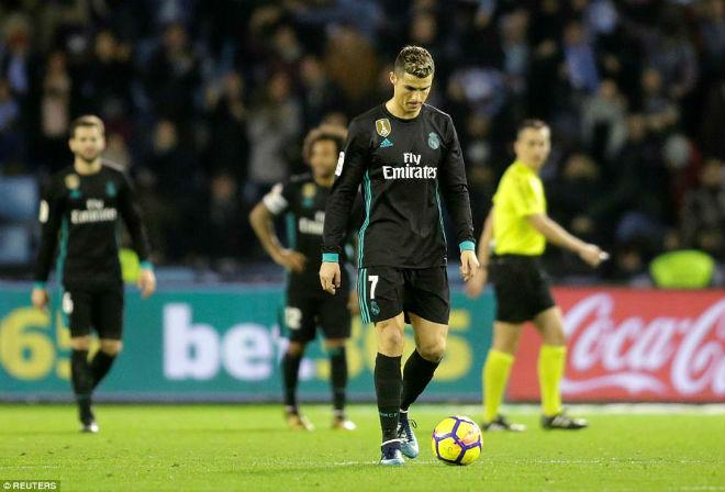 """Real Madrid bết bát: Ronaldo """"cùn"""" & """"ác mộng"""" sân nhà - 1"""