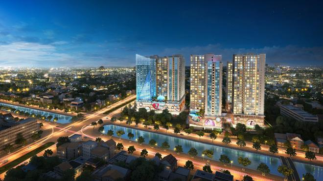 Vietracimex chính thức khai trương căn hộ mẫu dự án Hinode City - 2