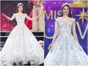 Thời trang - Đầm Lọ Lem 50.000 viên pha lê của Phạm Hương đẹp nhất tuần